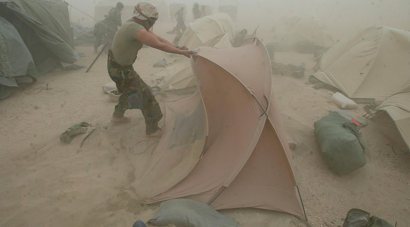 & 2-Person Combat Tent