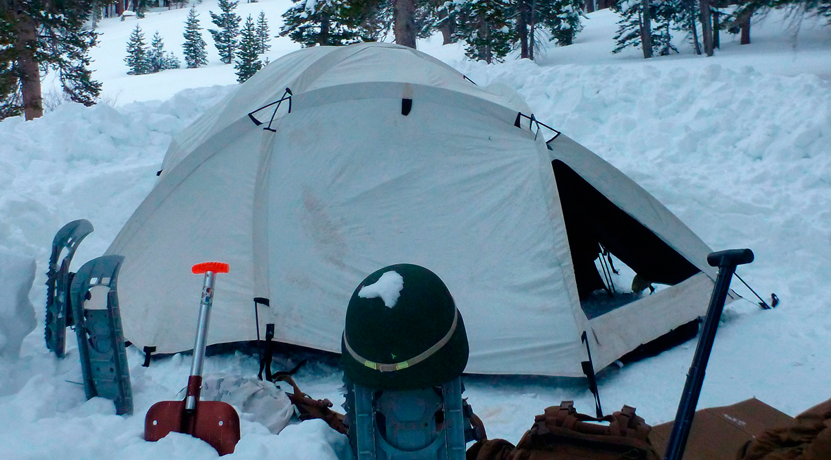 Extreme Cold Weather Tent